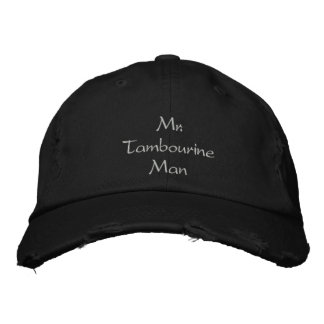 Sr. Pandeiro Homem Tampar/chapéu Boné Bordado