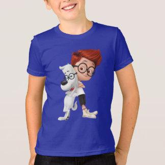Sr. Peabody & amigo de Sherman Tshirt