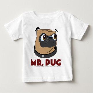 Sr. Pug Roupa Camisetas