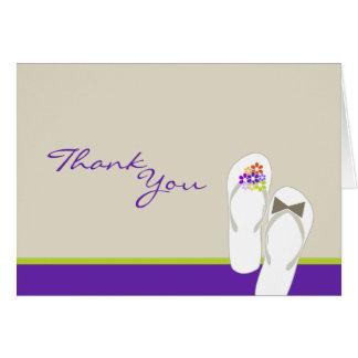 Sr. & Sra. cartões de agradecimentos do casamento