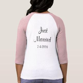 Sr./Sra. T-shirt do recem casados