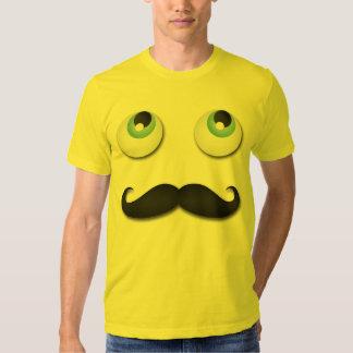 Sr. stache camisetas
