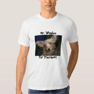Sr. Wiggles, para o presidente Camiseta