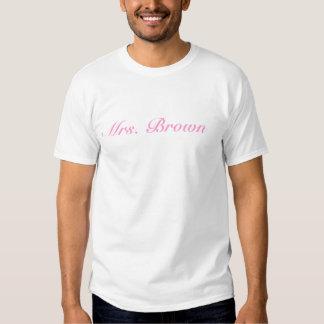 Sra. Brown Camiseta