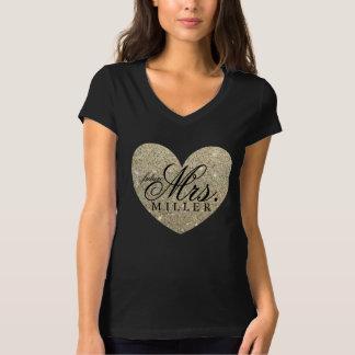 Sra. futura fabuloso camisa do coração tshirts