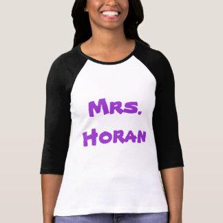 Sra. Horan Camisetas