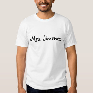 Sra. Jiménez Camiseta