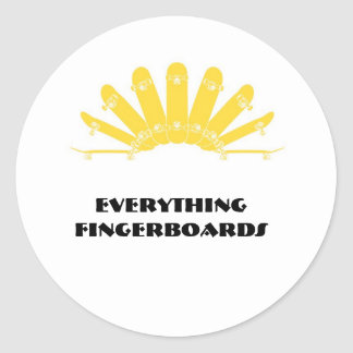 ssg-logotipo, tudo Fingerboards Adesivo