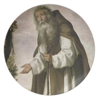 St Anthony Dispirited, 1640 (o óleo em canvas) Pratos