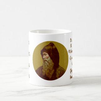St. Cyril a caneca de café #1b da monge (M 002)
