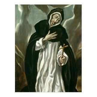 St Dominic de Guzman Cartão Postal
