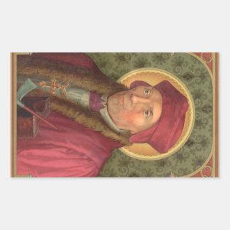 St John Fisher (SAU 025) Adesivo Retangular