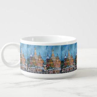 St. Manjericão pintura de Moscovo, Rússia em uma Tigela De Sopa