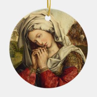 St Mary Magdalene banquete dia o 22 de julho Ornamento De Cerâmica Redondo