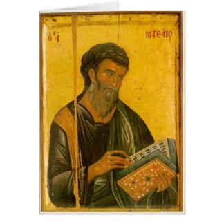 St Matthew Cartão Comemorativo