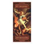 """""""St Michael o cartão da oração do arcanjo """" Panfleto Informativo"""