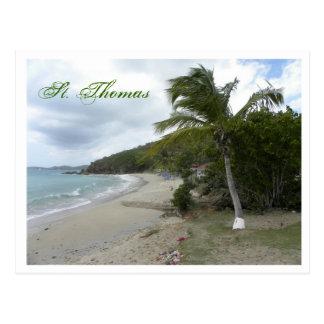 St Thomas Cartão Postal