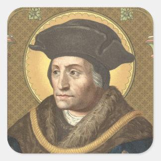 St Thomas mais (SAU 026) Adesivo Quadrado