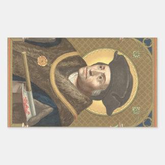 St Thomas mais (SAU 026) Adesivo Retangular