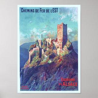 St. Ulrich do de do castelo Impressão