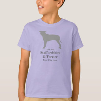 Staffordshire & TShirt da criança de Terrier -