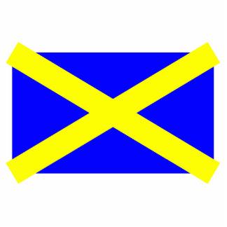 Stalbans, bandeira de Reino Unido Fotoescultura