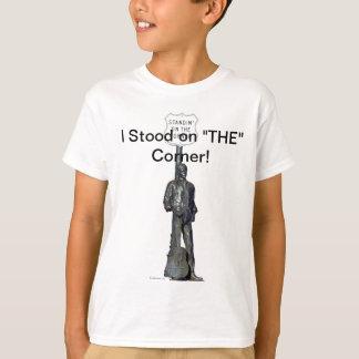 """Standin """""""" no canto! em Winslow Arizon Camisetas"""