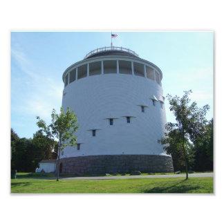Standpipe Bangor do monte de Thomas, Maine Impressão De Foto