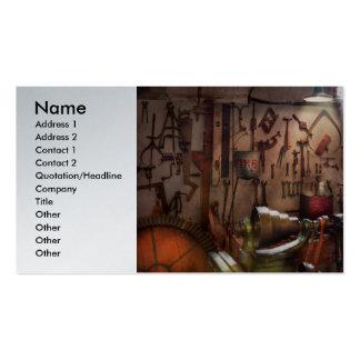 Steampunk - operador - a oficina dos inventores modelos cartão de visita