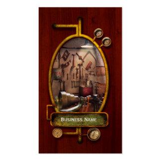 Steampunk - operador - a oficina dos inventores cartões de visita