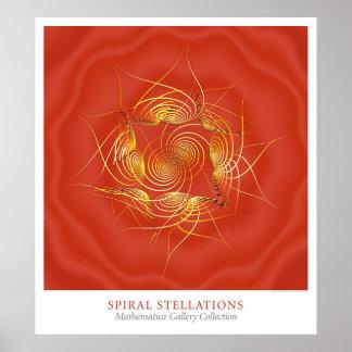 Stellations espiral pôster