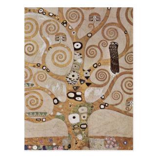 Stoclet frita a árvore de vida cartao postal