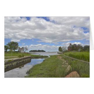 Stony Creek Notecard Cartão