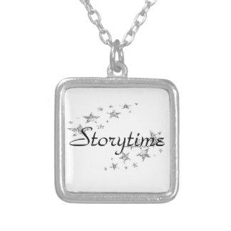 Storytime Colar Banhado A Prata