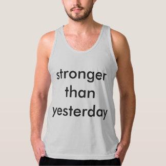 stronger than yesterday regatas