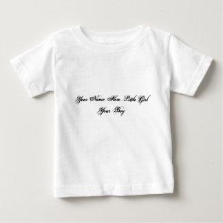 Sua do nome menina aqui… seu menino camisetas
