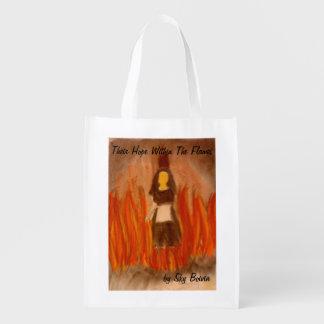 sua esperança dentro do saco de compras do cobrir sacola ecológica