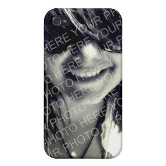 Sua letra do monograma dos pontos da modificação d iPhone 4 capas