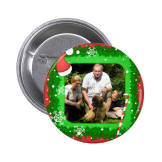 Sua própria foto em um quadro do Natal - Pins