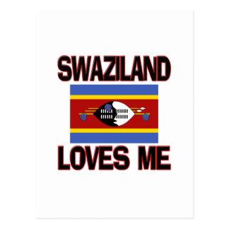Suazilândia ama-me cartão postal