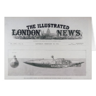 Submarino de naufrágio e de aumentação do cartão