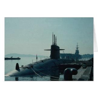Submarino SSB do míssil balístico de USS Ulysses Cartão