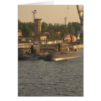 Submarinos do russo cartão