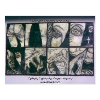Subtítulo católico por Vincent Marino 2007, Cartão Postal