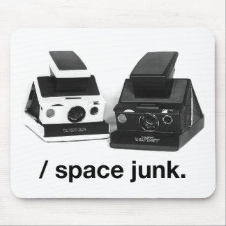/sucata de espaço. tapete do rato mouse pad