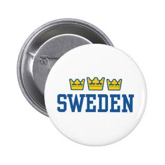 Suecia Bóton Redondo 5.08cm