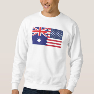 Sueter Bandeira americana australiana