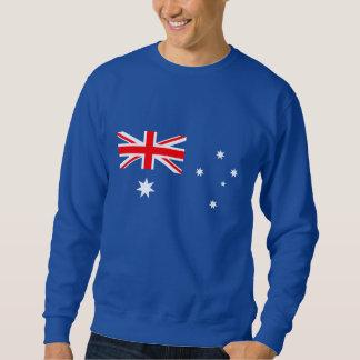 Suéter Bandeira australiana no azul