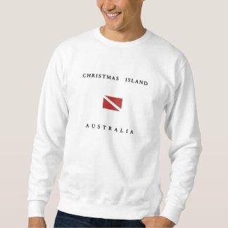 Suéter Bandeira do mergulho do mergulhador de Austrália
