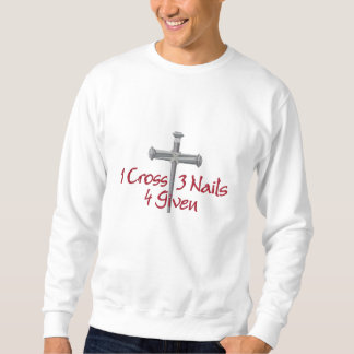 Suéter Bordado 4 dado a cruz